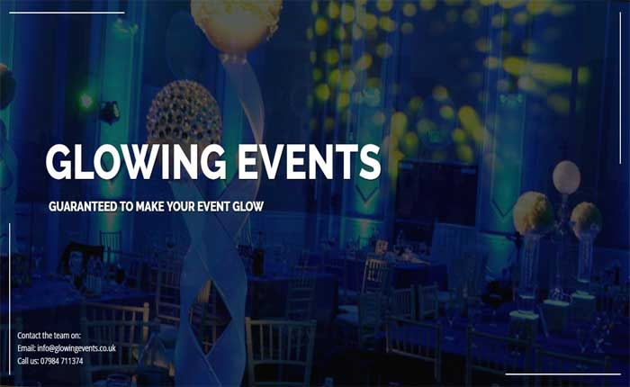 LED hire & decoration company in London